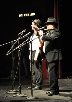 Jake Junkins & Rob Babson as The Blues Brothers in Radio 2016